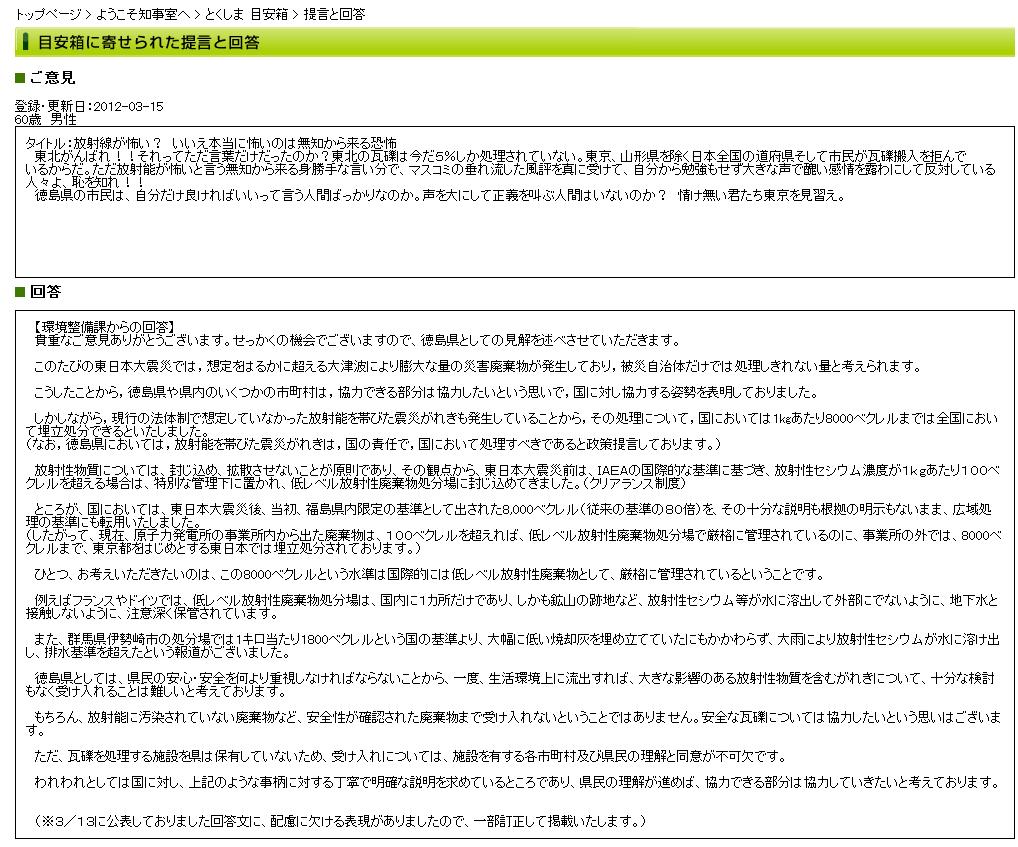 徳島県目安箱